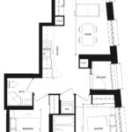 CG Tower - Lavender - Floorplan
