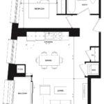 CG Tower - Mustard - Floorplan