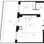 CG Tower - Olive - Floorplan