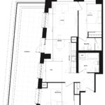 CG Tower - Rose - Floorplan