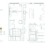 Edenbridge Kingsway - 2J - Floorplan