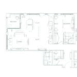 Edenbridge Kingsway - 2S+D - Floorplan