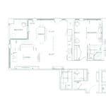 Edenbridge Kingsway - 2S+D - Floorplan