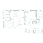 Edenbridge Kingsway - 2U+D - Floorplan