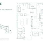 Edenbridge Kingsway - 2X+D - Floorplan