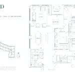 Edenbridge Kingsway - 2X+D - Floorplan