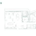 Edenbridge Kingsway - Penthouse 18 - Floorplan