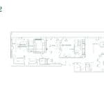 Edenbridge Kingsway - Penthouse 22 - Floorplan