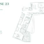 Edenbridge Kingsway - Penthouse 23 - Floorplan