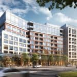 Edenbridge Kingsway Condo - Street Level View - Exterior Promenade Render