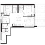 The Poet Condos - PH10 - Floorplan