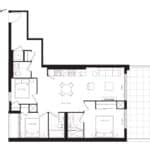 The Poet Condos - PH3 - Floorplan