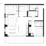 The Poet Condos - PH7 - Floorplan