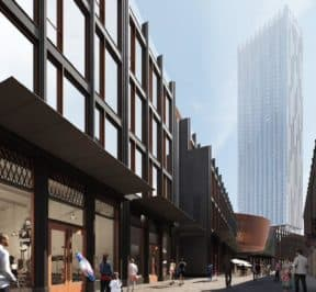 31 Condos - Street Level View - Exterior Render