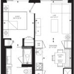 55C - Suite 01B - Floorplan