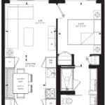 55C - Suite 02B - Floorplan