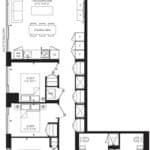 55C - Suite 03B - Floorplan