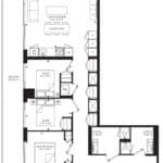 55C - Suite 03C - Floorplan