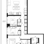 55C - Suite 03E - Floorplan