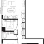 55C - Suite 03F - Floorplan