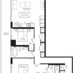 55C - Suite 03G - Floorplan