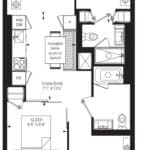 55C - Suite 04A - Floorplan