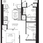 55C - Suite 04C - Floorplan
