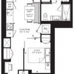 55C - Suite 05A - Floorplan