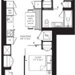 55C - Suite 05B - Floorplan