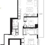55C - Suite 06C - Floorplan