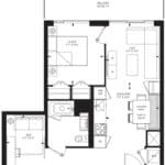 55C - Suite 07B - Floorplan