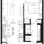 55C - Suite 08A - Floorplan