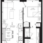 55C - Suite 08B - Floorplan