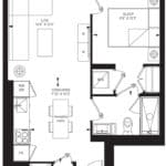 55C - Suite 09A - Floorplan