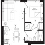 55C - Suite 09B - Floorplan