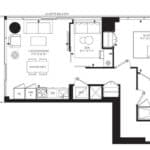 55C - Suite 10B - Floorplan