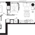 55C - Suite 12B - Floorplan