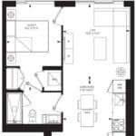 55C - Suite 13B - Floorplan