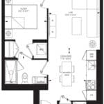 55C - Suite 13C - Floorplan
