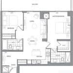 609 Avenue Road Condos - Suite 3C - Floorplan