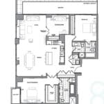 609 Avenue Road Condos - Suite 3F - Floorplan