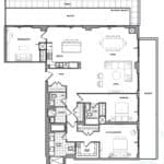 609 Avenue Road Condos - Suite 3N - Floorplan