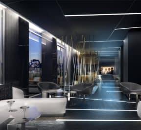 E Condos - Lounge - Interior Render