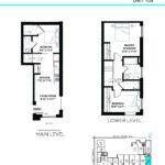 Elevate at Logan - The Brooklyn - Unit M - Floorplan
