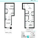 Elevate at Logan - The Elizabeth - Unit I - Floorplan