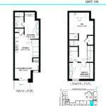 Elevate at Logan - The Emery - Unit L - Floorplan