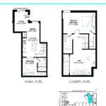 Elevate at Logan - The Isabella - Unit D - Floorplan
