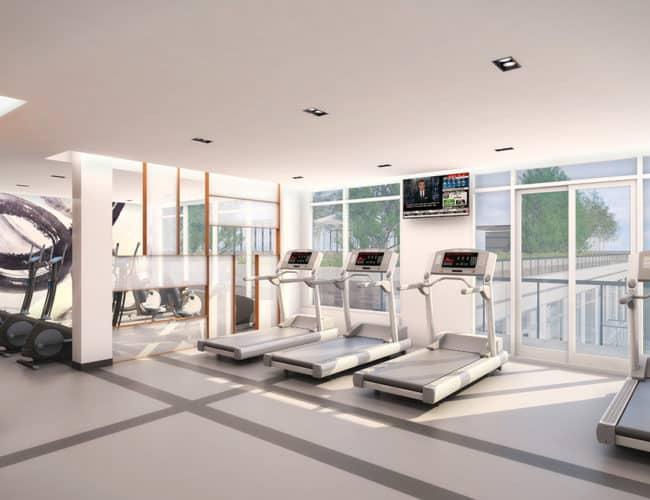Fitness Studio- East 3220 Condos