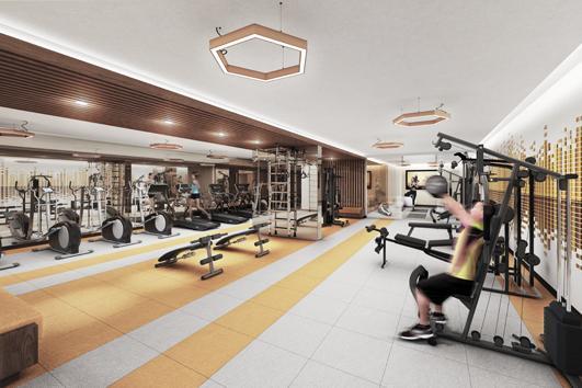 Gym, Sonic Condos