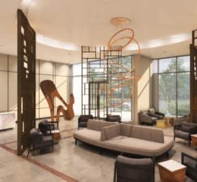 Lobby-East 3220 Condos